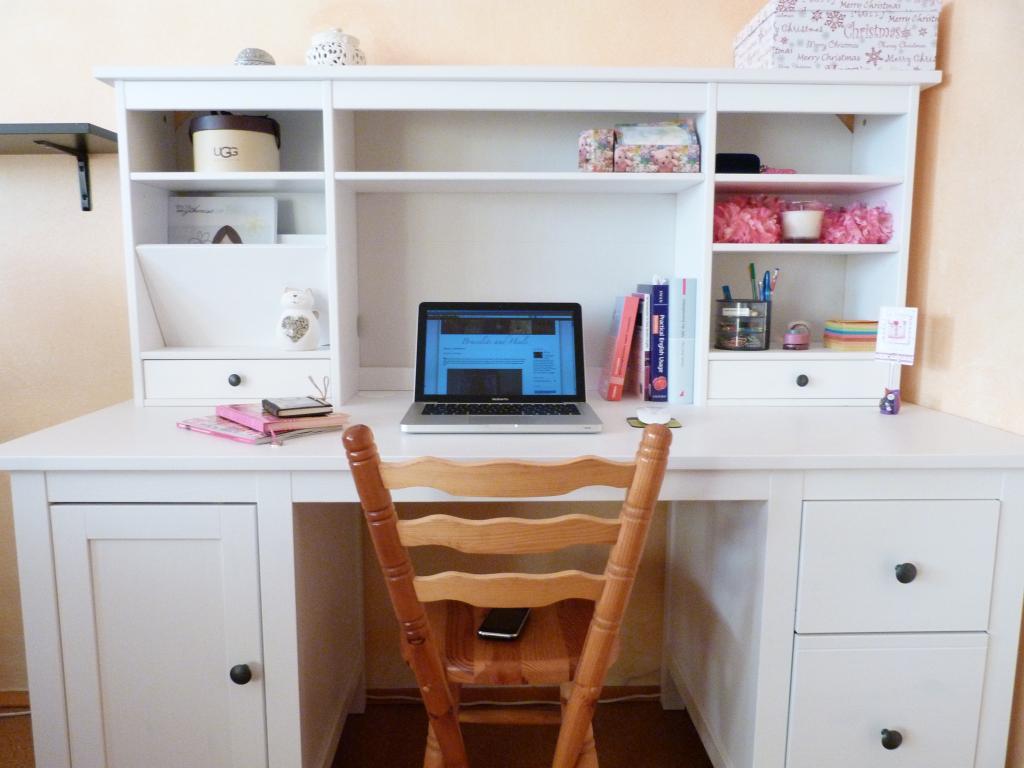 Schreibtisch ikea hemnes  Roomtour #1 - Bracelets and Heels