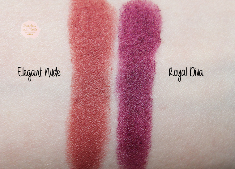 Astor Soft Sensation Lipcolor Butter Matte Swatches