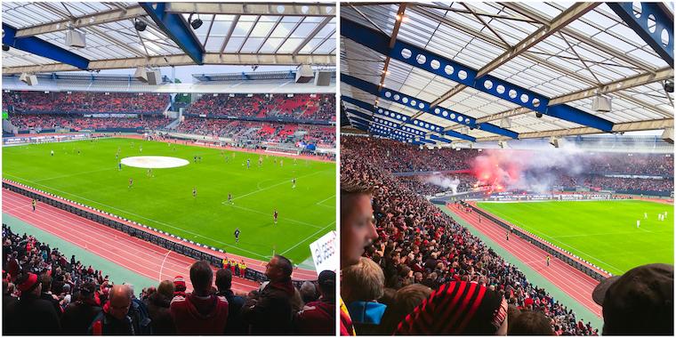 Relegation FCN Frankfurt Mai 2016