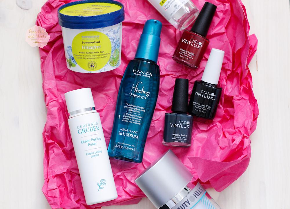 Beauty Press News Box August 2016 Inhalt