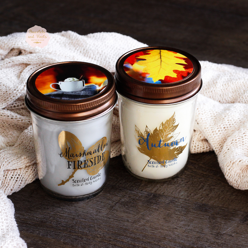 Bath and Body Works Medium Candles Autumn
