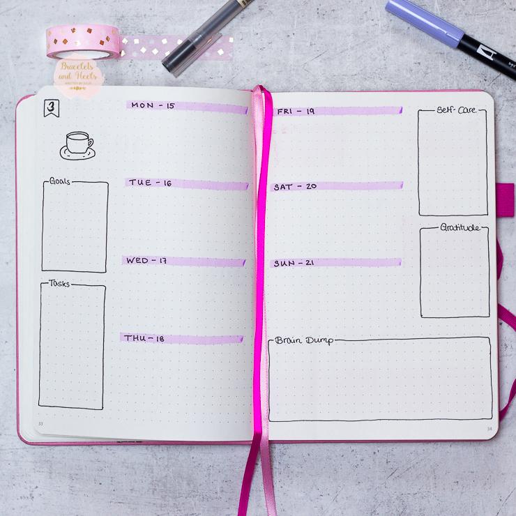 Bujo-layout-Scribbles-that-matter-Bullet-Journal-Setup-2018-Januar-January-inspiration-weekly-spread-bujo